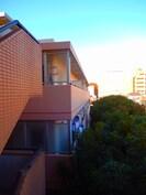 山本アビタシオン北館の外観