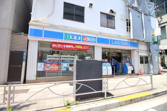 ローソン高輪店(コンビニ)まで95m