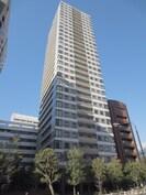 ベルファ-ス芝浦タワ-の外観