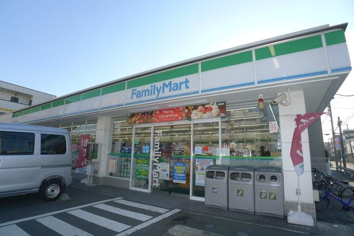 ファミリーマート南行徳3丁目店(コンビニ)まで498m