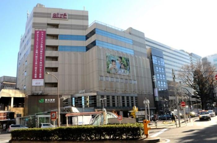 アトレ恵比寿(ショッピングセンター/アウトレットモール)まで550m