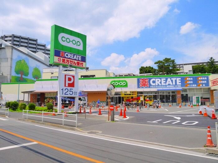 コープみらい柴崎店(スーパー)まで819m