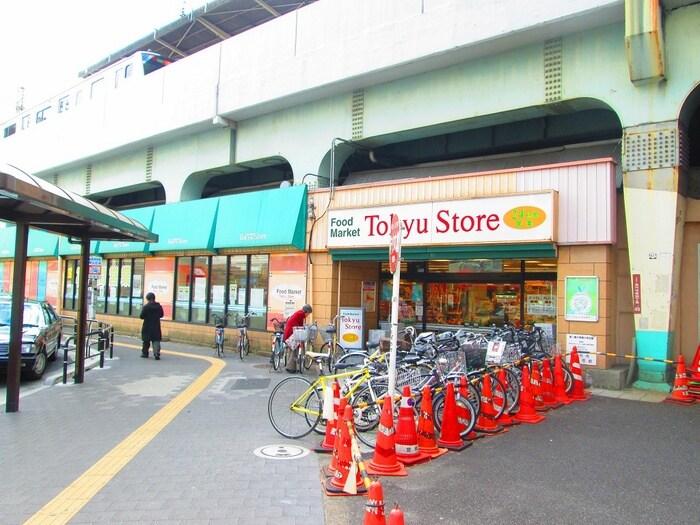 東急ストア(スーパー)まで324m
