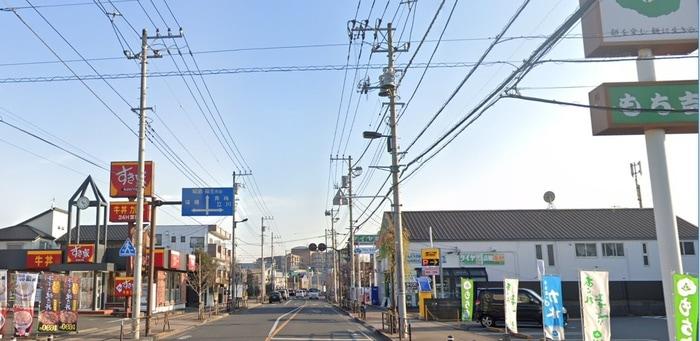 すき家 福生店(ファストフード)まで110m