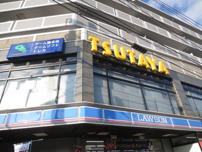 TSUTAYA(ビデオ/DVD)まで350m