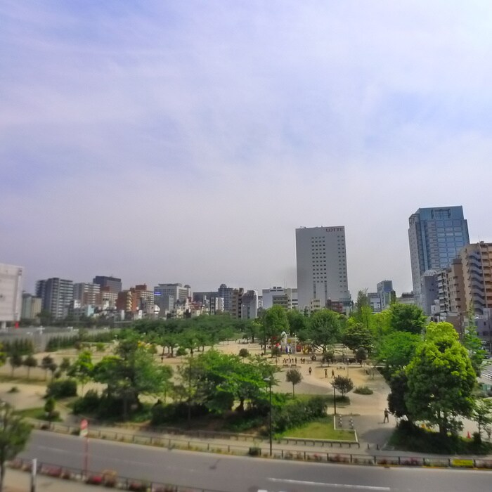 錦糸公園(公園)まで536m