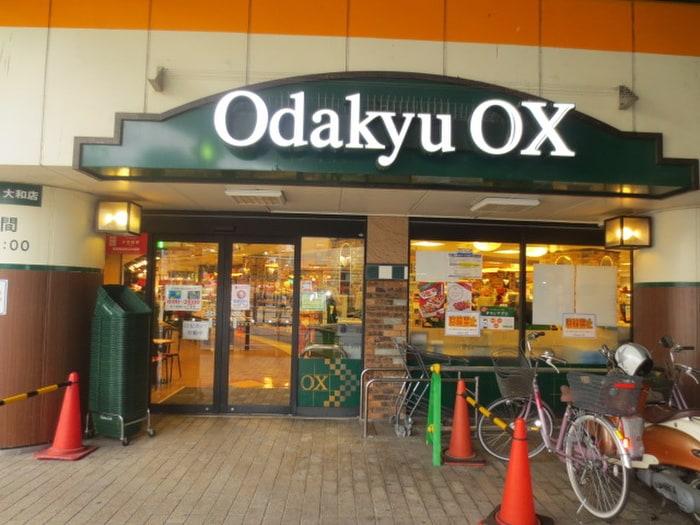 小田急OX(スーパー)まで500m
