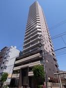 プライムアーバン新宿夏目坂タワーレジデンスの外観