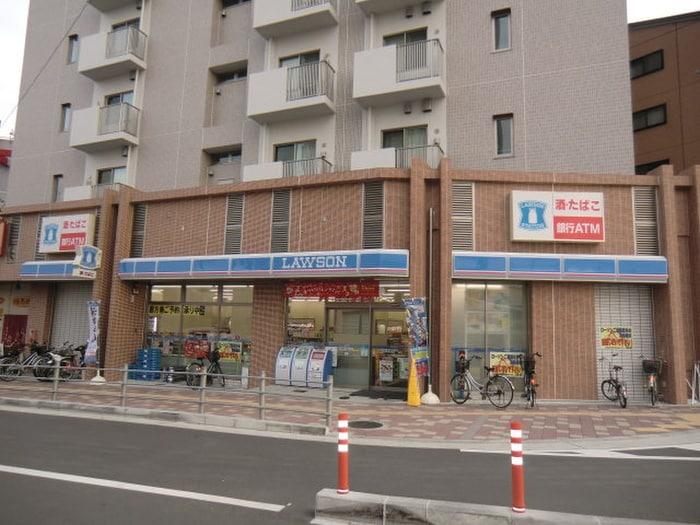 ローソン京阪牧野駅前店(コンビニ)まで228m