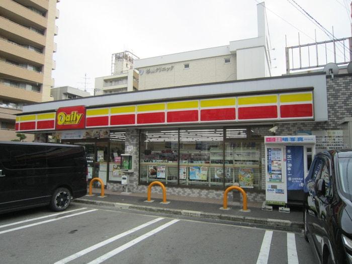 デイリーヤマザキ(コンビニ)まで1210m