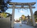 海神社(公園)まで2850m