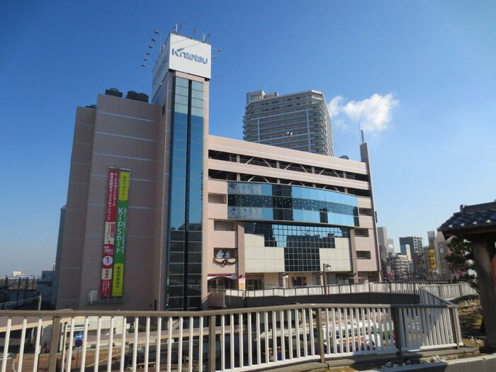 近鉄百貨店(デパート)まで400m