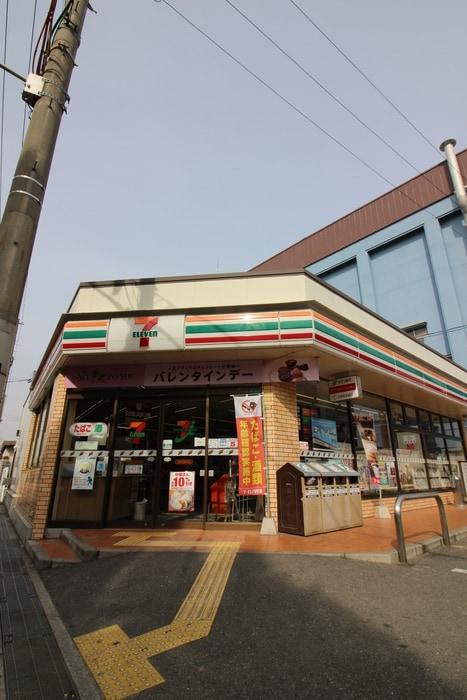 セブンイレブン大阪桜ノ宮高校前店(コンビニ)まで200m