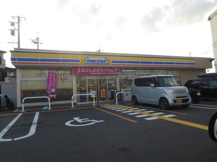 ミニストップ 尼崎武庫の里店(コンビニ)まで300m