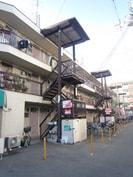 内田マンションの外観
