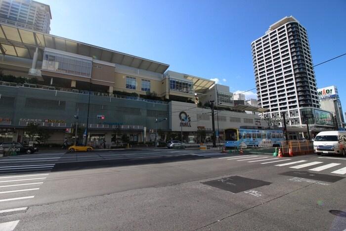 キューズタウン(ショッピングセンター/アウトレットモール)まで446m