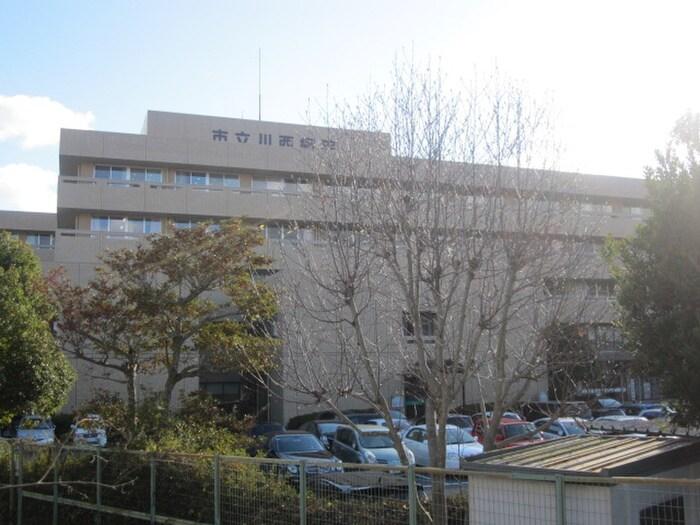 市立川西病院(病院)まで671m