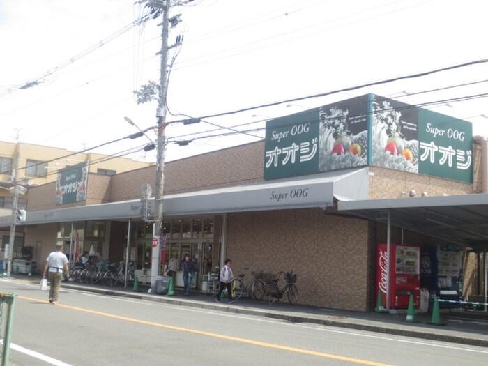 オオジ安堂寺店(スーパー)まで1200m