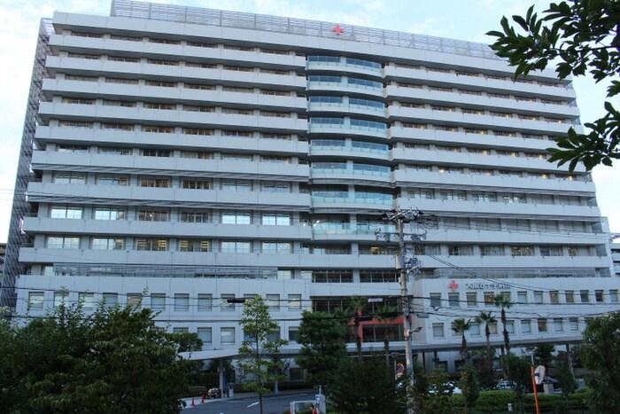 大阪赤十字病院(病院)まで600m