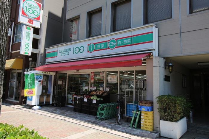 100円ローソン(コンビニ)まで99m