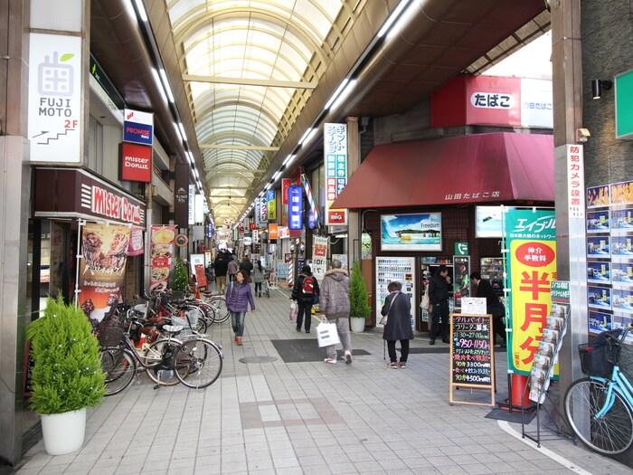 銀座通商店街(ショッピングセンター/アウトレットモール)まで1200m