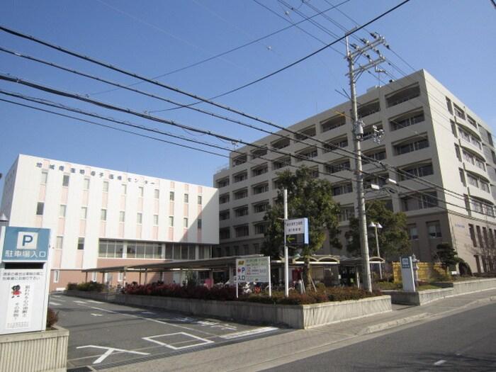 市立病院(病院)まで1800m