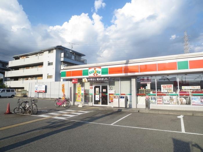 サンクス 常松店(コンビニ)まで156m