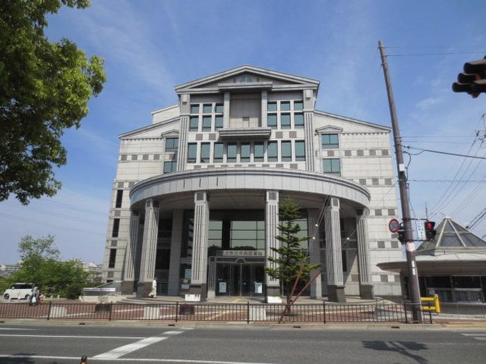 枚方市立中央図書館(図書館)まで1100m