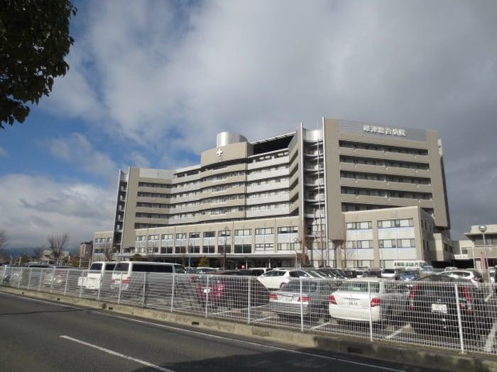 草津総合病院(病院)まで500m