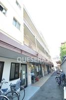 大阪メトロ谷町線/阿倍野駅 徒歩5分 3階 築41年の外観