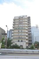 ネオコーポ大阪城公園1号館の外観