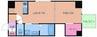 大阪メトロ御堂筋線/本町駅 徒歩10分 13階 築11年 1LDKの間取り