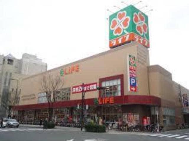 ライフ天神橋店(スーパー)まで424m※ライフ天神橋店