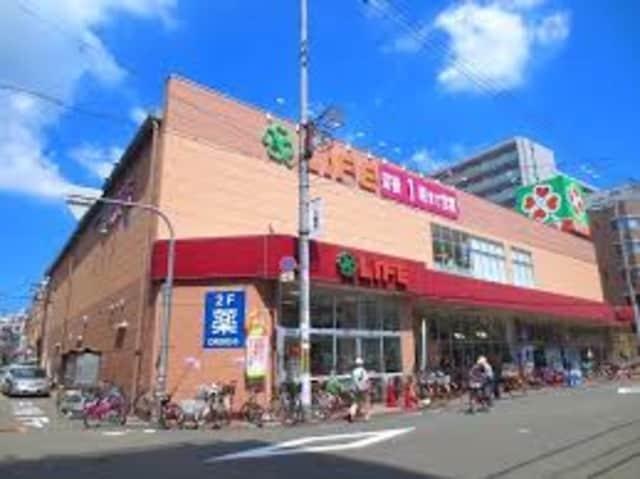ライフ大国町店(スーパー)まで384m※ライフ大国町店