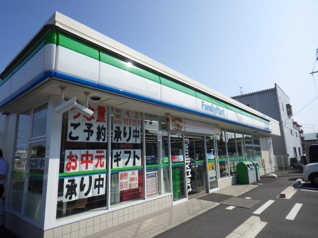 ファミリーマート静岡西島店(コンビニ)まで438m