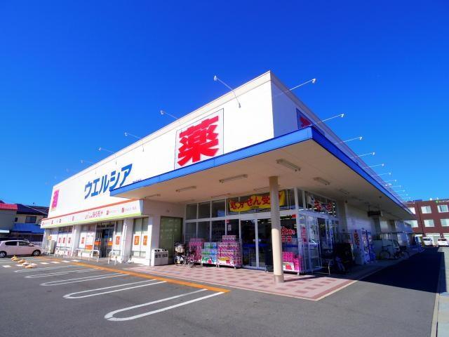 ウエルシア藤枝高洲店(ドラッグストア)まで499m