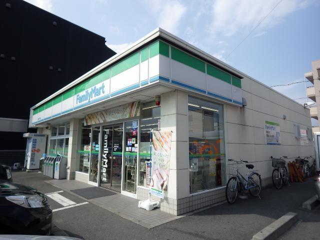 ファミリーマート静岡大坪南店(コンビニ)まで96m