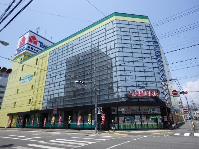 ヤマダ電機テックランド静岡店(電気量販店/ホームセンター)まで1192m
