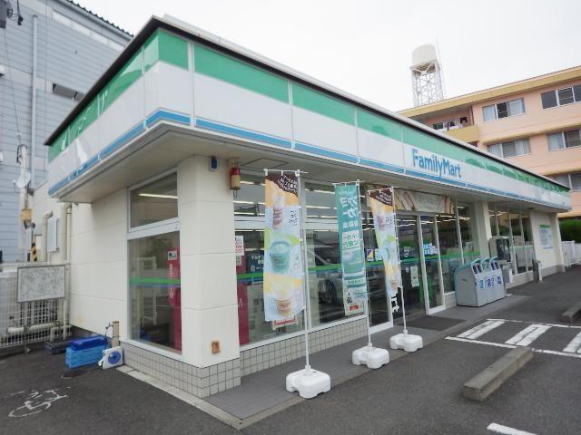 ファミリーマート静岡中原店(コンビニ)まで443m