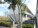スチューデントビレッジ A棟の外観