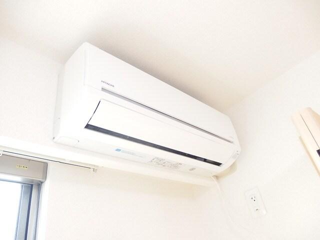 エアコン全室に設置済み