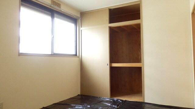 収納は各居室にあります