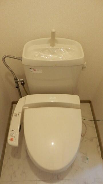 トイレはシンプルで使いやすい!