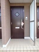 オシャレな玄関ドアです。