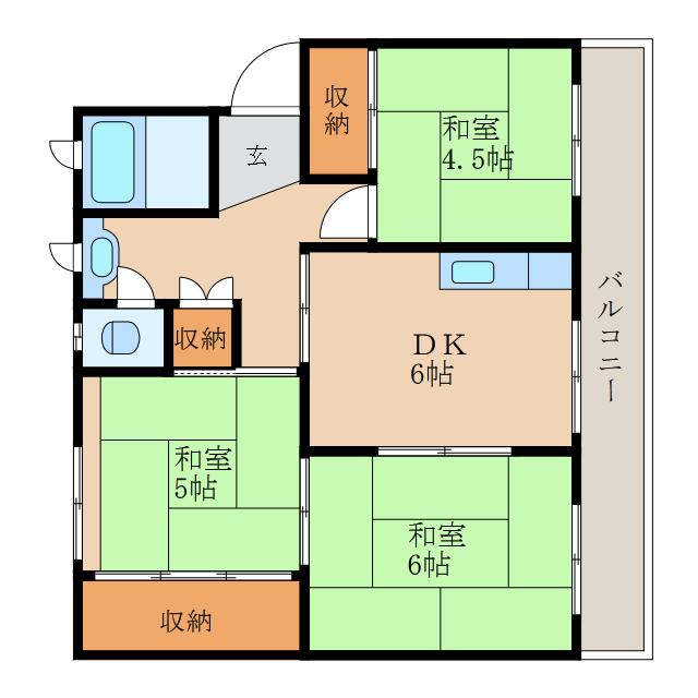 オール和室の3DK