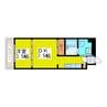 札幌市営地下鉄東豊線/新道東駅 徒歩1分 5階 築32年 1DKの間取り