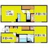 札幌市営地下鉄東豊線/北13条東駅 徒歩6分 1-2階 築5年 3LDKの間取り
