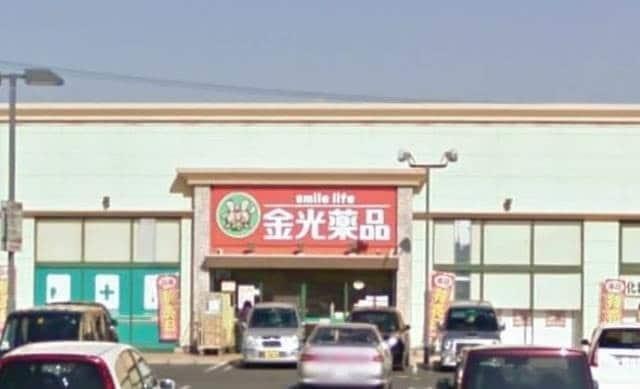 金光薬品当新田店(ドラッグストア)まで875m