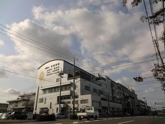 河田外科形成外科(病院)まで434m