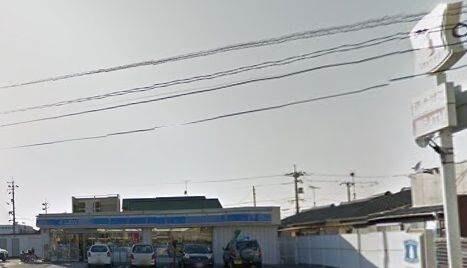 ローソン岡山藤原西町店(コンビニ)まで90m